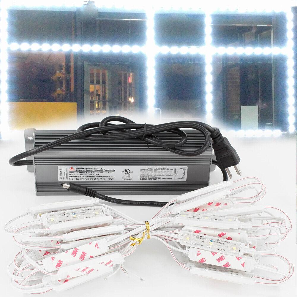 LEDupdates Brightest Storefront Window LED Light Samsung Module + Premium Power