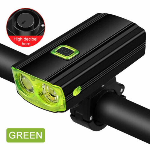 Bright MTB LED Road Bike Cycling Front Light Bicycle USB Rechargeable Headlight