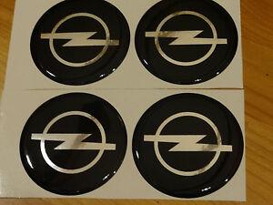 Opel-4-x-55mm-Aufkleber-Emblem-Felge-Logo-Raddeckel-Nabenkappe-Nabendeckel