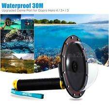 Diving Underwater Dome Port Camera Lens Cover Accessory for Gopro Hero 3+/4 D6H1