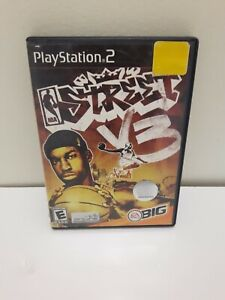 NBA-Streets-V3-Sony-Playstation-2-2005-Case-and-Game