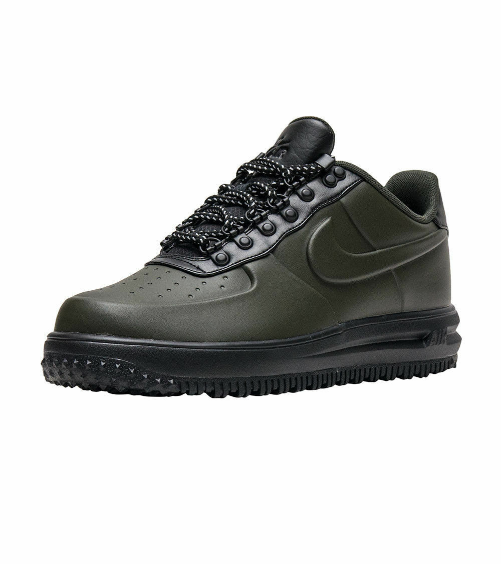 Nike Men's Lunar Force 1 Duckboot Low AA1125-300  Sequoia  NEW  Green Mens 10.5