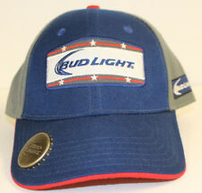 9194c4fc item 1 NEW BUD LIGHT Adjustable Trucker Snapback Cap Hat Blue Olive Bottle  Opener NWOT -NEW BUD LIGHT Adjustable Trucker Snapback Cap Hat Blue Olive  Bottle ...