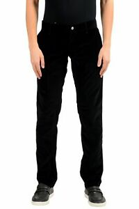 New $615 Dolce /& Gabbana Men 32w//32l Brown Straight Fit Tapered Corduroy Pants