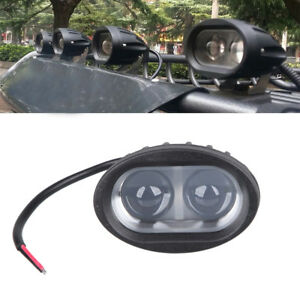 1x-Oval-20W-LED-Work-Light-Spot-Offroad-Fog-Lamp-Motorcycle-4WD-SUV-ATV-Hot