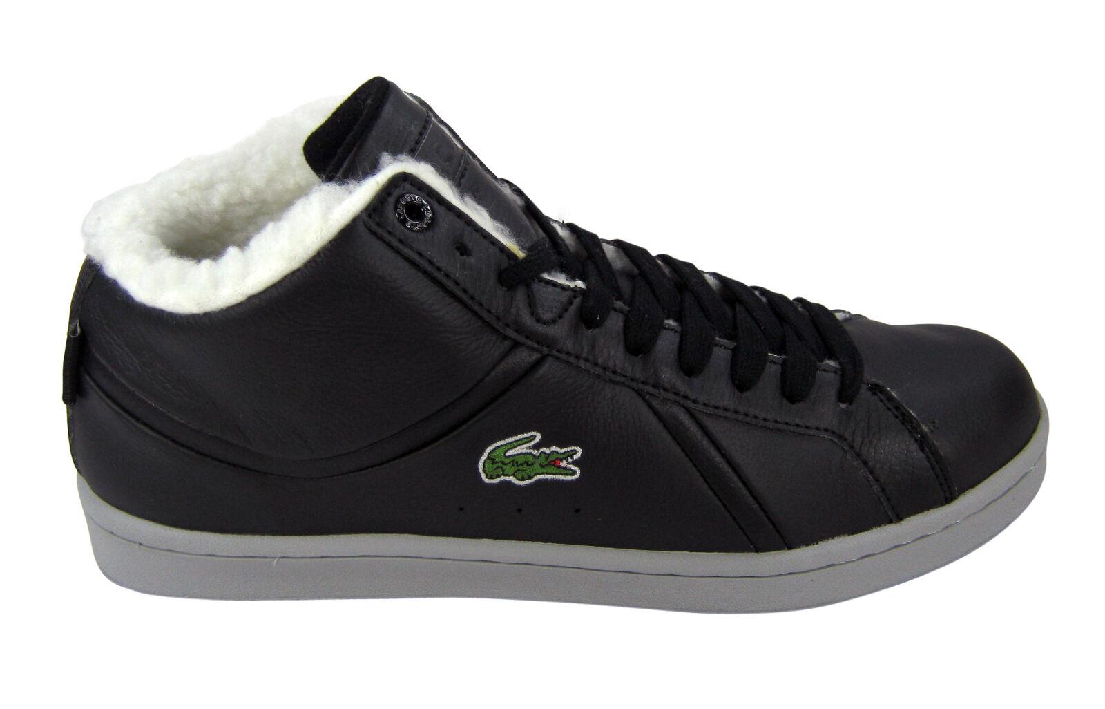 Lacoste Bryont Mid AG SPM black/schwarz Schuhe/Sneaker BLK LTH SYN