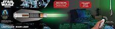 Star Wars Lightsaber Light Lamp Remote Control Luke Kids Teens Room Wall-mounted