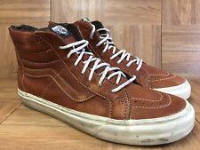 42ab8a5487 item 7 RARE🔥 VANS Sk8-HI Natural Brown Leather Zip LX Sz 11.5 Men s Shoes  Hi Top Vault -RARE🔥 VANS Sk8-HI Natural Brown Leather Zip LX Sz 11.5 Men s  Shoes ...