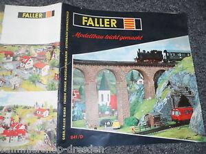 20104 Faller Modellbau Leicht Gemacht 1959 Sammlerstück Rar 841/d