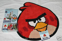 Angry Birds Bath Set Shower Curtain Hooks And Rug 001
