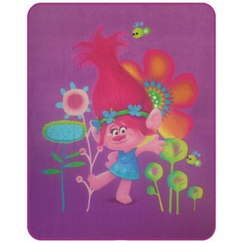 Trolls Poppy polaire couverture couverture 110 x 140 cm