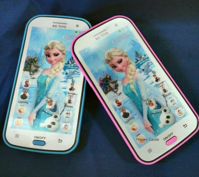 Kids Toy Mobile phone  Smartphone Learning device Music Song ABC , Frozen