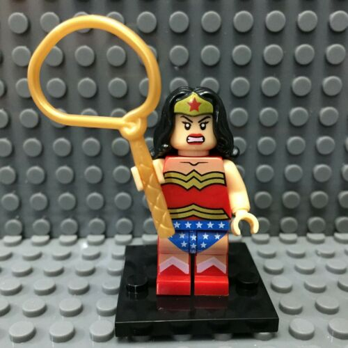 Wonder Woman Custom Minifigure DC Universe Minifigures