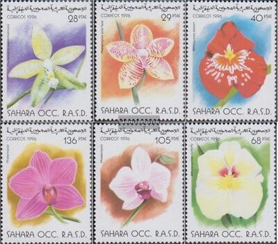 Alert Sahara Problema Il Governo In Esilio Senza Validità In International Nature & Plants Other African Stamps Postali Mn Drip-Dry