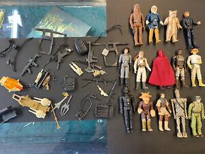 VINTAGE Star Wars. Bundle/JOB LOTTO con tantissimi accessori
