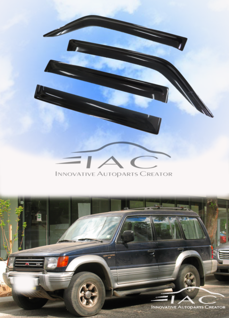 1x Rear Stainless Steel Roof Ladder For Mitsubishi Pajero Montero 1992-1999