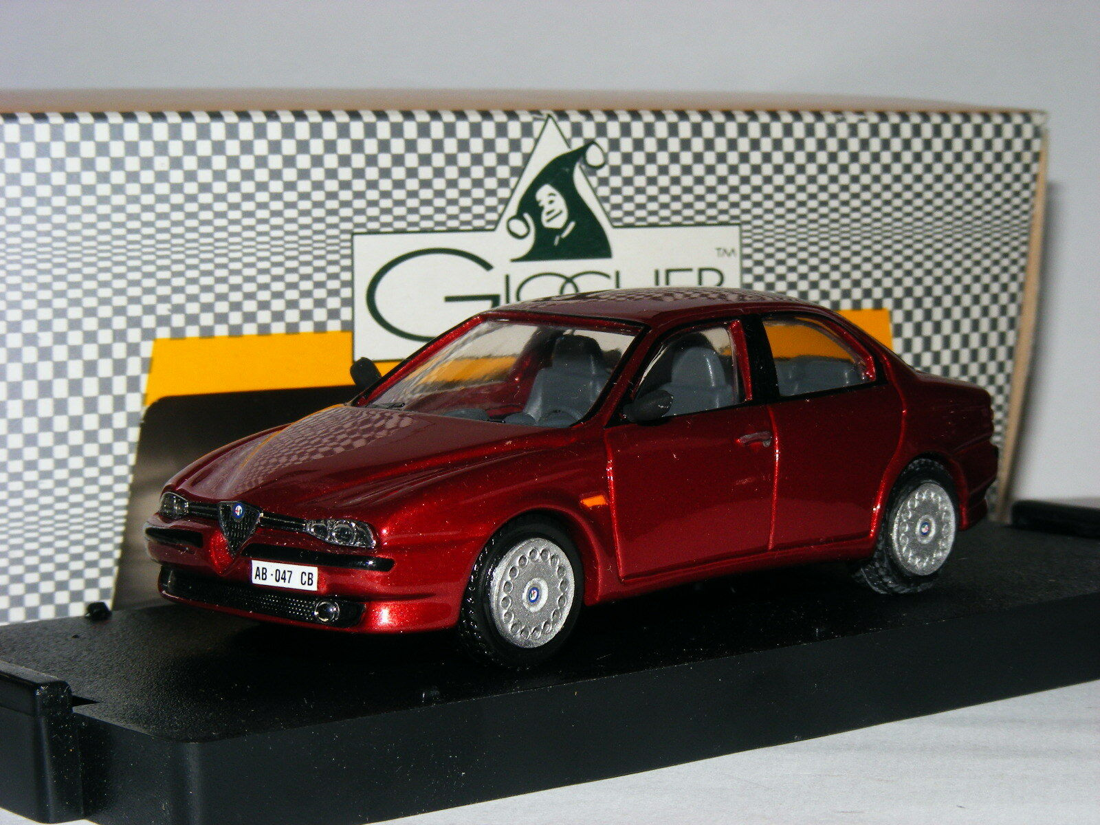 Giocher grar 02 1996 Alfa Alfa Alfa Romeo 156 1.8 T-Spark Rojo Metálico 1 43 fc6631
