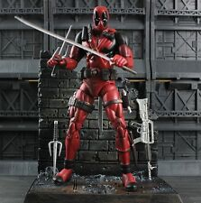 Marvel Legends Deadpool Wade Wilson Action Figure Toy Doll Scene New Without Box