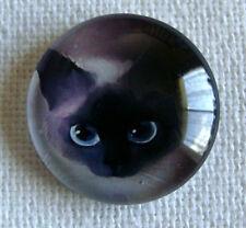 Metal Enamel Cat Needle Minder Keeper Cross Stitch D85 Fridge Magnet