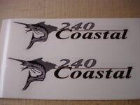 Wellcraft Coastal 240 Fishing Boat Decal Set