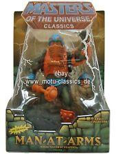 Man at Arms 2010 2. Auflage Masters of the Universe Classics He Man MOTU MOC NEU