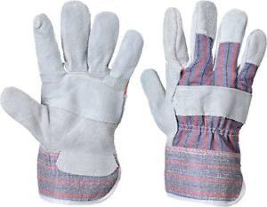 12 Paar Portwest A210 Kanadische Rigger Handschuh - Grau