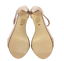 thumbnail 10 - Womens Ladies Beige Faux Suede High Heel T-Bar Party Sandals Shoes Size UK 7 New