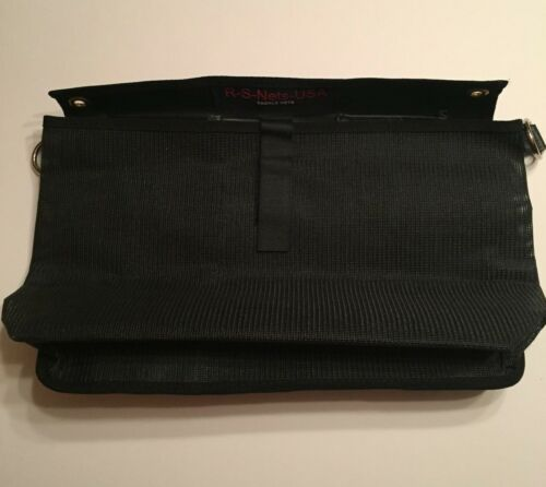 "3 Couleurs-Kayak de pêche Rail Latéral Tackle Box Bag 13/"" X 8/"" RS filets USA Kayak Sac"