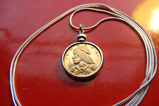 """Proof Freedom Fighter URACA Proof Coin on a 30"""" 925 Sterling Silver Snake Chain"""