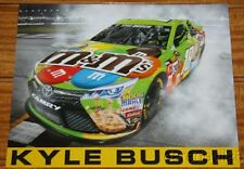 2015 Kyle Busch M&M's Toyota Camry NASCAR Sprint Cup postcard