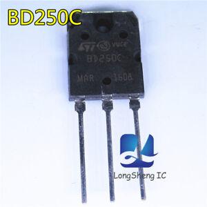 5-un-PNP-Transistor-St-varios-cantidad-BD250C-Nuevo