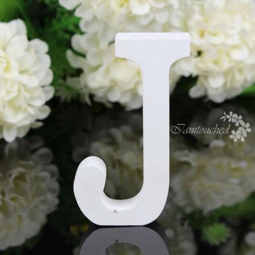 26 freistehenden Buchstaben Alphabet Hochzeit Party Holzhaus Shop-Dekorationen