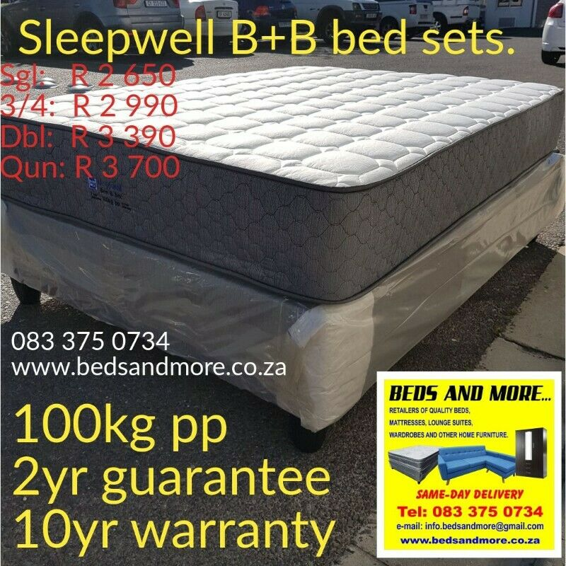 Double beds on special. Brand new.