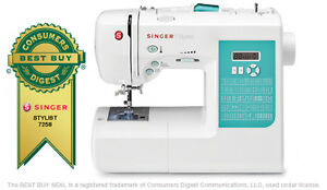 Singer-7258-Stylist-Award-Winning-Factory-Serviced-Electronic-Sewing-Machine