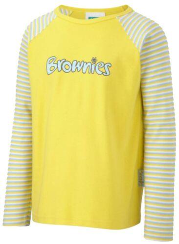 Brownies Long Sleeved T Shirt Size 34 Uniform Brownie