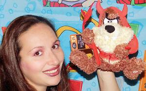 Hallmark-WB-Looney-Tunes-TALKING-TAZ-IN-DEVIL-COSTUME-Plush-STUFFED-ANIMAL-Toy