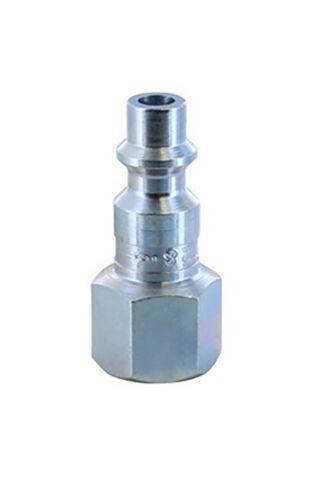 1//4-Inch Female Plug MIL 728 Milton 728BK M Style Quick Coupler