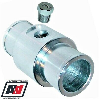 In Line Fuel Gauge Adaptor 6mm Hose Tails /& Plug CNC Billet Aluminium 1//8 NPT