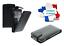 miniatuur 3 - Housse Etui Coque Luxe (CUIR NOIR) ~ HTC ONE X