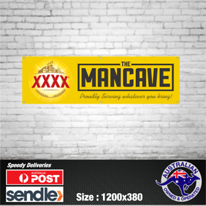 XXXX-Gold-Queensland-Beer-Banner-The-Mancave-Bar-Beer-Spirits-Shed
