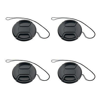 4pcs Center-Pinch Front Len Cap for Nikon Canon Sony Olympus replacement 77mm