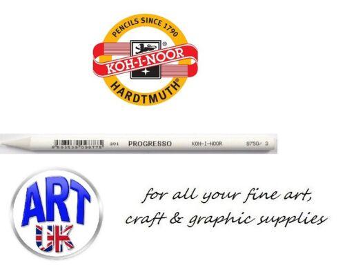 Koh-I-Noor Artists Progresso 8750 Woodless Titanium White Draw//Sketching Pencil