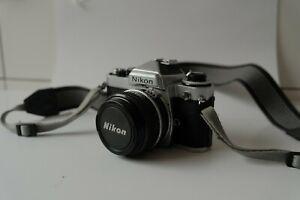 Nikon FE with 50mm f/1.8 AI-S