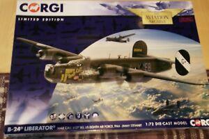 CORGI-AVIATION-1-72-B-24-LIBERATOR-039-MALE-CALL-039-453RD-BC-US-8-AIR-FORCE-1944