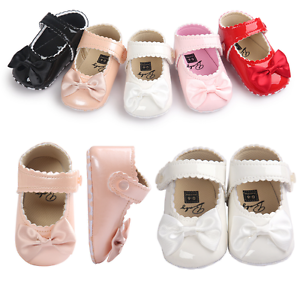 free shipping best cheap pre order Newborn Baby Girl Spanish Style Patent First Crib Shoes Infant ...