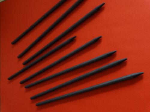 5 x Graphitstab 8,2 x 300 mmGraphitelektrode Graphit Elektrode Anode Grafitstab