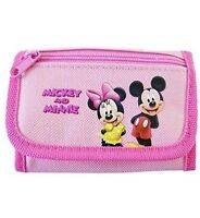 Disney Mickey And Minnie Mouse Tri Fold Wallet