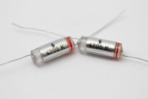 STYROFLEX CAPACITOR SIEMENS 4700pF 160V 5/% .NOS 5PC CA43U55+F251016