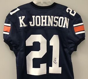 b575043e562 Image is loading Kerryon-Johnson-SIGNED-Auburn-Tigers-Football-Jersey-w-