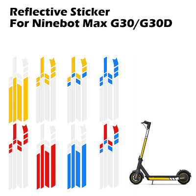 Reflective Stickers Fr Ninebot ES//Xiaomi Mijia M365 Pro//MAX G30 Electric Scooter